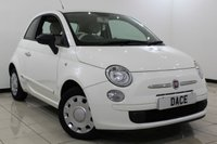 USED 2011 61 FIAT 500 1.2 POP 3DR 69 BHP Full Service History FULL FIAT SERVICE HISTORY + HALF LEATHER SEATS + AIR CONDITIONING + RADIO/CD + ELECTRIC WINDOWS + ELECTRIC MIRRORS