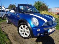 2005 MINI CONVERTIBLE 1.6 COOPER 2d 114 BHP £2989.00
