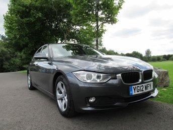 2012 BMW 3 SERIES 2.0 320D EFFICIENTDYNAMICS 4d 161 BHP £10195.00