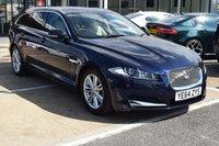 2014 JAGUAR XF 2.2 D LUXURY SPORTBRAKE 5d AUTO 163 BHP £17895.00
