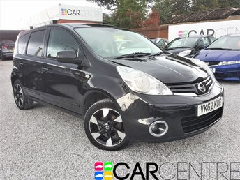 View our 2012 62 NISSAN NOTE 1.4 N-TEC PLUS 5d 88 BHP