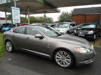 USED 2010 JAGUAR XF 3.0 V6 PREMIUM LUXURY 4d AUTO 240 BHP 8 SERVICE STAMPS SAT NAV LEATHER