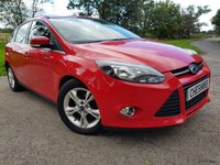 USED 2012 11 FORD FOCUS 1.6 ZETEC TDCI 5d 113 BHP