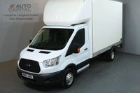 USED 2015 65 FORD TRANSIT 2.2 350 124 BHP L3 LWB TAIL LIFT FITTED LUTON VAN TWIN WHEELER 13 FOOT BED