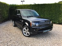 2013 LAND ROVER RANGE ROVER SPORT 3.0 SDV6 HSE BLACK 5d AUTO 255 BHP £21990.00