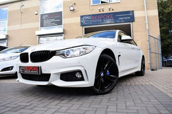 2015 BMW 4 SERIES 435D XDRIVE M SPORT GRAN COUPE AUTOMATIC £24750.00
