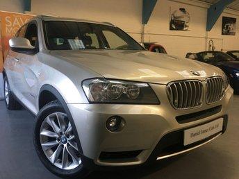 2013 BMW X3 3.0 XDRIVE35D SE 5d AUTO 309 BHP £15490.00