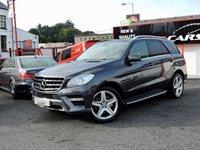 2013 MERCEDES-BENZ M CLASS 3.0 ML350 BLUETEC AMG SPORT 5d AUTO 258 BHP £18995.00
