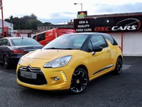2012 CITROEN DS3 1.6 E-HDI DSTYLE PLUS 3d 90 BHP £SOLD