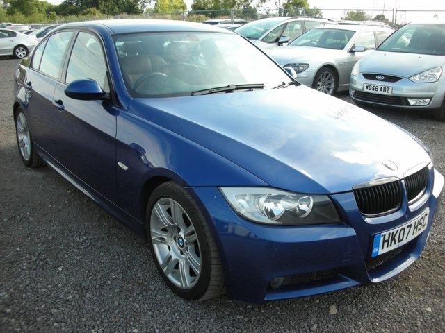 2007 07 BMW 3 SERIES 2.0 320D M SPORT 4d 161 BHP
