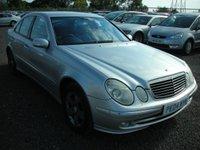 2004 MERCEDES-BENZ E CLASS 3.2 E320 AVANTGARDE 4d AUTO 224 BHP £2500.00