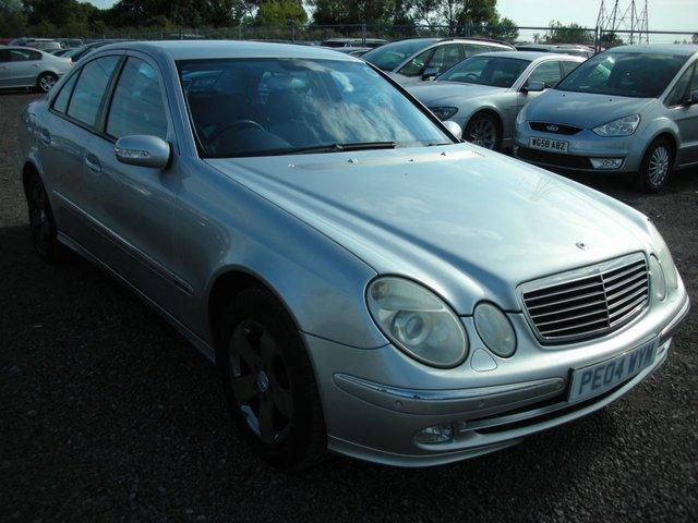 2004 04 MERCEDES-BENZ E CLASS 3.2 E320 AVANTGARDE 4d AUTO 224 BHP