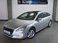 2013 PEUGEOT 508 2.0 ACTIVE SW HDI 5dr AUTO  £7480.00