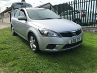 USED 2012 12 KIA CEED 1.4 VR-7 5 DOOR 61000 MILES FSH VERY WELL LOOKED AFTER CAR