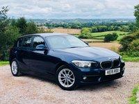 2015 BMW 1 SERIES 1.5 116D ED PLUS 5d 114 BHP £10885.00