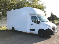 2015 VAUXHALL MOVANO 2.3 F3500 L3H1  CDTI 1d 123 BHP Low Loader Luton £SOLD