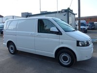 USED 2013 13 VOLKSWAGEN TRANSPORTER 2.0 T30 TDI BLUEMOTION TECHNOLOGY, 113 BHP, AIR CON, SATNAV