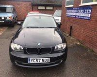 2007 BMW 1 SERIES 2.0 120D SE 5d 175 BHP £3890.00