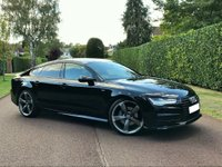 USED 2014 64 AUDI A7 3.0 TDI Black Edition Sportback S Tronic Quattro 5dr FACELIFT+HEAD UP DISPLAY+MORE
