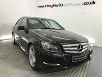 USED 2013 MERCEDES-BENZ C CLASS 2.1 C220 CDI BLUEEFFICIENCY AMG SPORT 4d 168 BHP