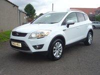 2012 FORD KUGA 2.0 TITANIUM TDCI AWD 5d 163 BHP £7950.00