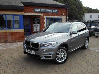 2014 BMW X5 3.0 XDRIVE30D SE 5d AUTO 255 BHP £25790.00
