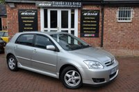 2005 TOYOTA COROLLA 1.4 T3 COLOUR COLLECTION VVT-I 5d 92 BHP £2495.00