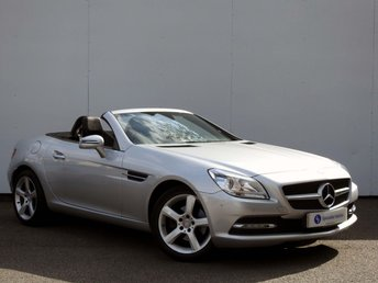 2012 MERCEDES-BENZ SLK 1.8 SLK200 BLUEEFFICIENCY 2d AUTO 184 BHP £12995.00