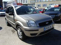 USED 2005 05 FORD FUSION 1.4 CITY 5d 80 BHP