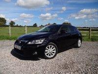 2011 LEXUS CT 1.8 200H SE-L 5d AUTO 136 BHP £9990.00