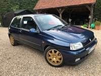 1994 RENAULT CLIO 2.0 WILLIAMS 1 16V,REDUCED TO SELL,COST MORE TO RESTORE,POSS,PX,SWAP,HPI CLEAR,FSH,MINT £14995.00