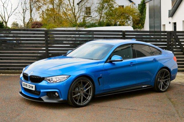 2015 15 BMW 4 SERIES 2.0 420D M SPORT GRAN COUPE 4d AUTO 188 BHP