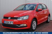 USED 2014 64 VOLKSWAGEN POLO 1.0 SE 5d 60 BHP £20 PER YEAR ROAD TAX