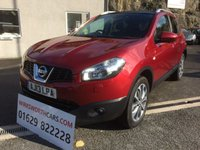 USED 2013 13 NISSAN QASHQAI 1.6 TEKNA IS DCIS/S 5d 130 BHP **STUNNING**F.S.H**BOSE**SAT NAV**1 OWNER**£30 TAX**