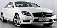 USED 2013 13 MERCEDES-BENZ CLS CLASS 2.1 CLS250 BlueEFFICIENCY AMG Sport 7G-Tronic Plus (s/s) 4dr COMAND Nav, Heated Seats, DAB