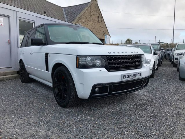 2012 62 LAND ROVER RANGE ROVER Westminster 4.4 TDV8 Auto 5dr [ Overfinch Conversion ] ( 313 bhp )