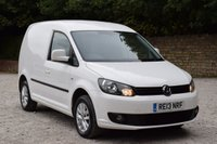 2013 VOLKSWAGEN CADDY 1.6 C20 TDI BMT HIGHLINE 5d 101 BHP £6250.00