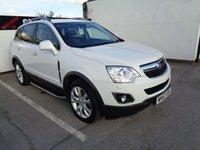 2013 VAUXHALL ANTARA 2.2 SE NAV CDTI 4WD 5d AUTO 182 BHP £8575.00