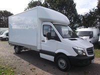 2015 MERCEDES-BENZ SPRINTER 2.1 313 CDI 2d 129 BHP Luton, with Tail lift £16499.00