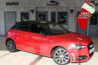 USED 2014 63 AUDI A1 1.6 SPORTBACK TDI S LINE STYLE EDITION 5d 103 BHP - full audi service history  FULL AUDI SERVICE HISTORY + HALF BLACK LEATHER SEATS + XENON HEADLIGHTS + 17 INCH ALLOYS + FREE ROAD TAX + AIR CONDITIONING + LED DAYTIME RUNNING LIGHTS + REAR PARKING SENSORS