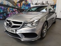 2014 MERCEDES-BENZ E CLASS 2.1 E220 BLUETEC AMG LINE 2d AUTO 174 BHP £16994.00