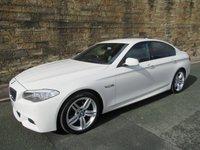 USED 2012 61 BMW 5 SERIES 2.0 520D M SPORT 4d AUTO 181 BHP