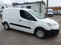 2014 PEUGEOT PARTNER 1.6 HDI PROFESSIONAL 625, 74 BHP, AIR CON, ELECTRIC PACK