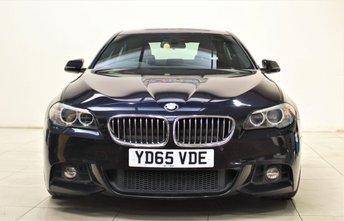2015 BMW 5 SERIES 2.0 525D M SPORT 4d AUTO 215 BHP £17499.00