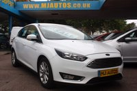 USED 2015 64 FORD FOCUS 1.6 TITANIUM 5dr AUTO 124 BHP 1 OWNER | SERVICE HISTORY | FINANCE AVAILABLE