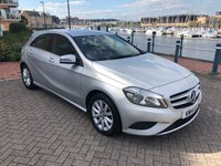 USED 2014 14 MERCEDES-BENZ A CLASS 1.5 A180 CDI BLUEEFFICIENCY SE 5d AUTO 109 BHP SATELLITE NAVIGATION! FULL SERVICE HISTORY!