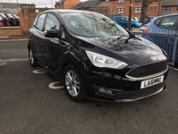 USED 2016 16 FORD C-MAX 1.5 ZETEC TDCI 5d AUTO 118 BHP NEW MODEL CMAX AUTOMATIC WHICH IS CHEAP TO RUN , LOW CO2 EMISSIONS, £20 ROAD TAX AND EXCELLENT FUEL ECONOMY! EXCELLENT SPECIFICATION INCLUDING PARKING SENSORS, AIR CONDITIONING, SATELLITE NAVIGATION/MEDIA, ALLOY WHEELS AND AUXILLIARY/USB CONNECTION!  ONLY 9436 MILES AND FULL FORD HISTORY!