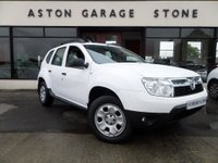 USED 2013 63 DACIA DUSTER 1.5 AMBIANCE DCI 4WD 5d 109 BHP ** BLUETOOTH * FSH ** ** BLUETOOTH * F/S/H **