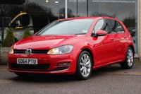 2015 VOLKSWAGEN GOLF 1.4 GT TSI ACT BLUEMOTION TECHNOLOGY 5d 148 BHP £12695.00