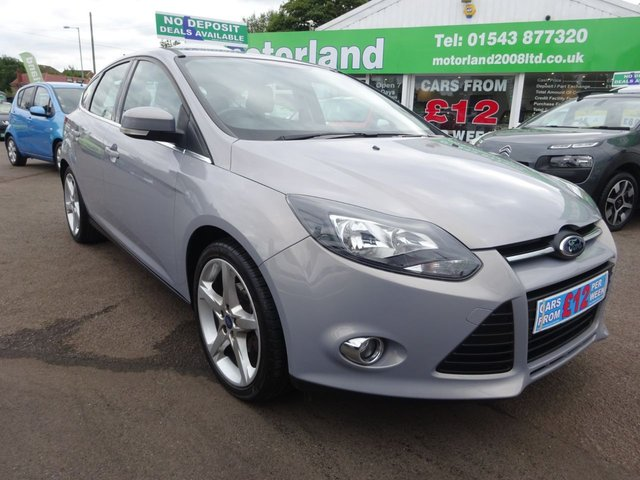 USED 2011 61 FORD FOCUS 1.6 ZETEC 5d 104 BHP £0 DEPOSIT FINANCE AVAILABLE....TEST DRIVE TODAY CALL 01543 877320